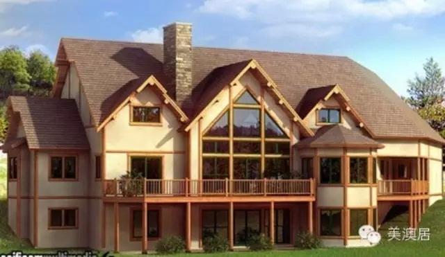 自建大型别墅设计图